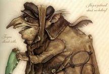 Faerie / Fairyland illustrations