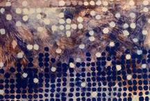 Textile and mixed media art