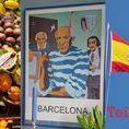 Reise..Barcelona, Spanien