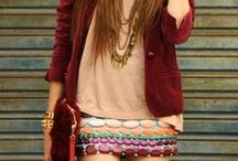 Boho Chic Style / Some beautiful and funky boho chic styles