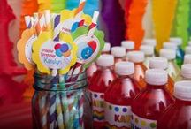 KID PARTY IDEAS / by Julie Butler