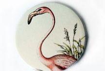 DaWanda ♥ Flamingos