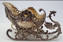 Antiques: Silver / Collection of antique silver / by Nad.G☙