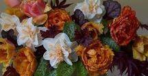 Flirty Fleurs  &  Longfield Gardens / All arrangements on this board were designed by Alicia Schwede of Flirty Fleurs / Bella Fiori with flowers from Longfield Gardens.