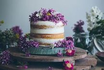 C a k e s  / All types of wedding cake inspiration. Decadent. Simple. Pretty. Floral. Home Made. Ombre. Ruffles. Roughly Iced. Metallics.
