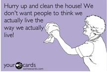 Housekeeping / by Kara Sanders