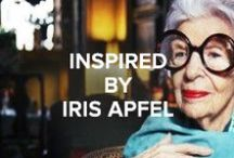 Inspired by Iris Apfel / Iris Apfel has inspired a number of pieces from our SS12 collection, including the shoe named as a tribute to her. Discover IRIS http://bit.ly/IrisPinterest
