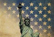 America / All American.  USA / by Dorothy
