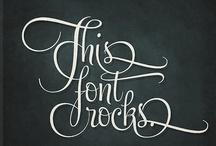 Font-alicious / by Kara Sanders
