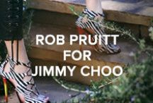 Rob Pruitt for Jimmy Choo / / Discover Rob Pruitt for Jimmy Choo  http://us.jimmychoo.com/RobPruitt