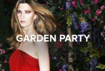 Garden Party / Add flourish to alfresco soirees with strappy sandals and ethereal glitter. #TheSeason