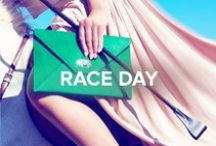 Race Day / Celebrate the highlight event of the social calendar in ladylike sophistication. #TheSeason