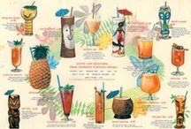 Tiki Party / Luau  / Everyone looks better with a flower behind one ear and a drink with a paper umbrella.  / by Ezra Pound Cake (Rebecca Crump)
