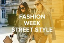 Fashion Week Street Style / Jimmy Choo steps out on city streets at Fashion Weeks around the globe.
