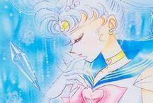 美少女戦士セーラームーン / A board dedicated to Naoko Takeuchi's classic manga and anime: Sailor Moon. This board includes images from the anime and pages from the manga. All fan art, collectibles and other merch can be found in my other boards. :) / by 🐝 ℳisa 🐝