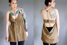 couture et tricot . sew / Inspiration pour couture customisation ou tricot facile. Cela ne ressemble jamais à ce qu'on voulait mais on est toujours fière