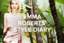 Emma Roberts AW14 Style Diary / Visit Chooworld for an exclusive interview and style diary with US actress Emma Roberts, including some of her favourite styles from the Jimmy Choo AW14 collection.   Read the interview at http://bit.ly/EmmaRoberts_Interview  Shop the edit at http://bit.ly/EmmaRoberts_Edit
