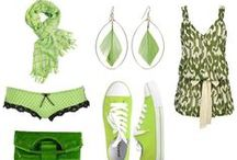 Going Green / Green is our favorite color - naturally!