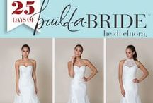 heidi elnora: 25 Days of build-a-bride Giveaway / We are giving one build-a-bride look, up to $3000 retail value, to one deserving bride. We will post a different build-a-bride look each day leading up to Christmas, so stay posted and share with friends and family! Please email info@heidielnora.com to request an application. Happy Holidays!