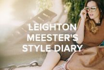 Leighton Meester's Spring Summer Style Diary / Visit Chooworld for an exclusive interview and style diary with US actress and singer Leighton Meester, showcasing bohemian style in the 70's inspired shoot.  Read the Interview: http://bit.ly/leighton_meester  Shop the Edit: http://bit.ly/leighton_edit
