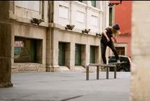 Skate / Tricks, boards, skaters, crashes, jumps and parks