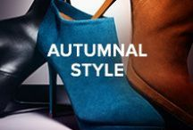Autumnal Style / Transition into the new season with key Autumnal styles. Shop the look at www.jimmychoo.com