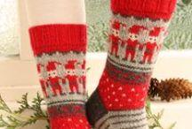 Knitted Christmas / Calcetines de navidad