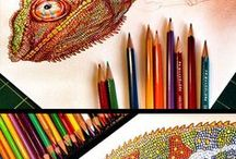 Coloring & etc art inspiration