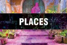 Places & Spaces  / home and away