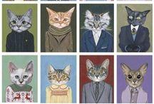Cats<3 / by Andrea Heruska