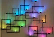 Wall Ideas / by Marly Arsenault