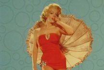 Pin-Up Girls / Classic 1950s pin-up posters.