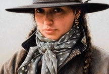 Vintage Cowgirl / The Timeless Vintage Cowgirl ! ~Art, theme, design, party ideas~ / by Julie Williams