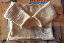 Knitting / Knitting projects, in progress and completed. Debbie Bliss patterns, using baby cashmerino