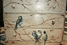 Painted Furniture / by Melinda Hiller Dickrell