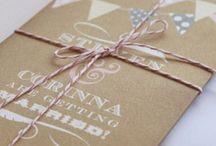 .. Beautiful Wedding Stationery ..