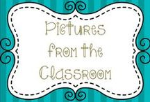 Pictures from the Classroom / Real pictures of ideas, units, activities, etc...LOTS and LOTS of pictures to help motivate and inspire teachers to use in their own classrooms. Want to add pins?  contact me cvautrot26@gmail.com to be invited