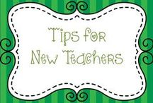 Tips for New Teachers / Are you new to teaching?  Here are some ideas to help you out!