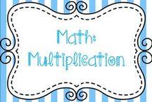 Math:  Multiplication / Ideas for teaching multiplication