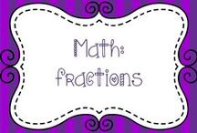 Math:  Fractions / Ideas for teaching fractions