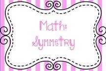 Math:  Symmetry / Ideas for teaching Symmetry