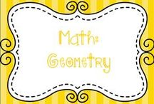 Math:  Geometry / Ideas for teaching geometrry