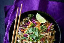 Salads / Fresh, vibrant and vegan... salads!