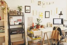 Offices Spaces / by Brenna Noel