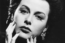 Hedy Lamarr / Hedy Lamarr - born Hedwig Eva Maria Lamarr (Nov 9, 1913 - Jan 19, 2000, ) - actress and inventor, celebrated for her great beauty -   With  composer George Antheil invented an early technique for spread spectrum communications and frequency hopping, necessary for wireless communication from the pre-computer age to the present day.   / by Joseph P