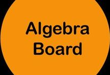 Algebra Board / Follow this board for math resources that target the Algebra Common Core standards. If you would like to collaborate, please leave a comment on a pin. There are no hard and fast rules, but please only Algebra or general education pins and please try to pin free ideas and products as well as paid ones. Thank you!