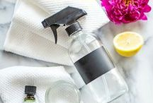 DIY home cleaning / DIY home cleaning, and products.