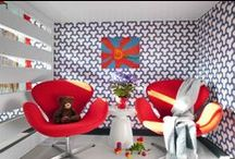 Fun & Cute Kid's Rooms / We think every kid deserves the coolest retreat we can give them, check out our board for some interior design inspiration that will definitely put a smile on their face this autumn!