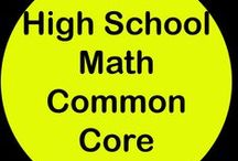 High School Math Common Core / Follow this board for math resources that target any of the High School Math Common Core standards. If you would like to collaborate, please leave a comment on a pin. There are no hard and fast rules, but please only High School math or general education pins and please try to pin free ideas and products as well as paid ones. Thank you!