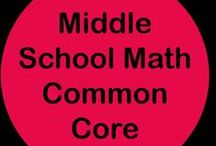 Middle School Math Common Core / Follow this board for math resources that target the Middle School Common Core standards.  If you would like to collaborate, please leave a comment on a pin.  There are no hard and fast rules, but please only middle school math or general education pins and please try to pin free ideas and products as well as paid ones.  Thank you!